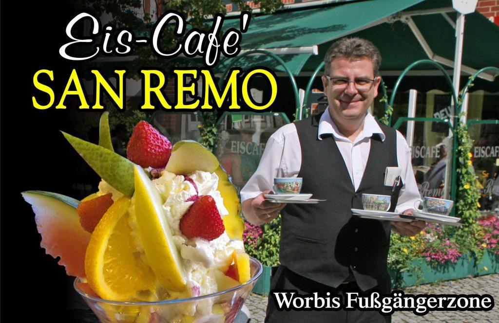 Das Eiscafe SanRemo in Worbis