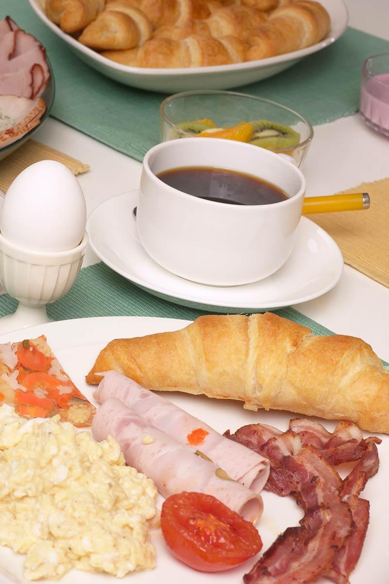 Frühstück im San Remo Worbis
